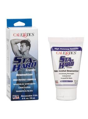 Cal Exotics Sta-Hard Desensitizing Cream  2 oz