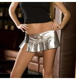 Electric Lingerie PVC Mini Skirt