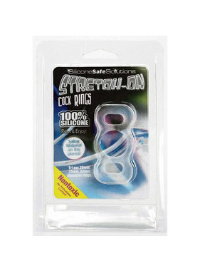 NMC Stretch-On Silicone Cock Ring