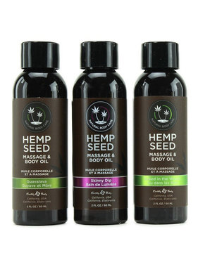 Earthly Body Earthly Body Hemp Seed Massage Oil 2 oz