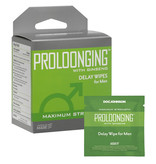 Doc Johnson Toys Delay Wipes for Men Proloonging with Ginseng