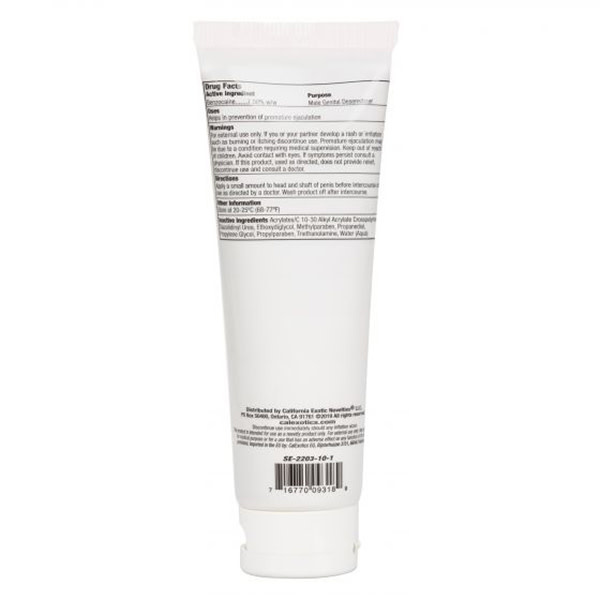 Cal Exotics Optimum Rock Hard Cream 4 oz (118 ml)