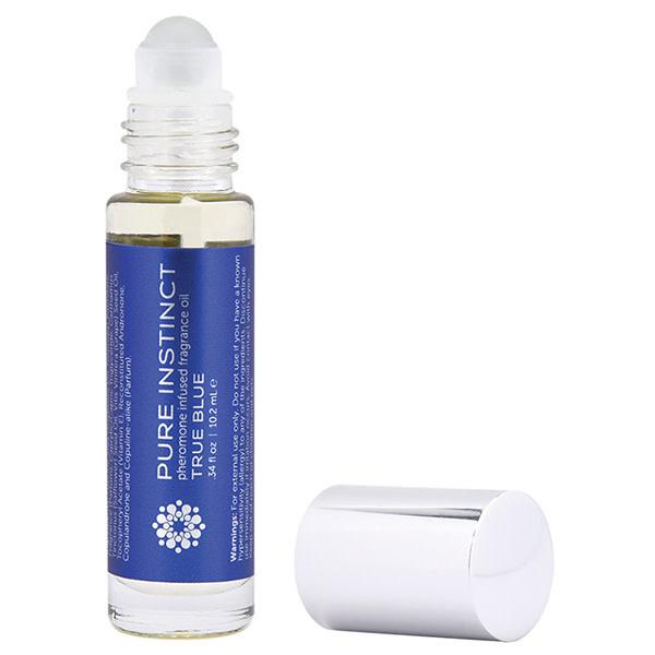 Classic Erotica Pure Instinct Unisex Pheromone Roll On Perfume True Blue 0.34 oz (10.2 ml)