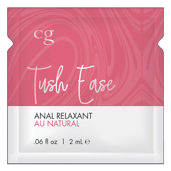 Classic Erotica CG Tush Ease Anal Relaxant Foil Pack (2 ml)