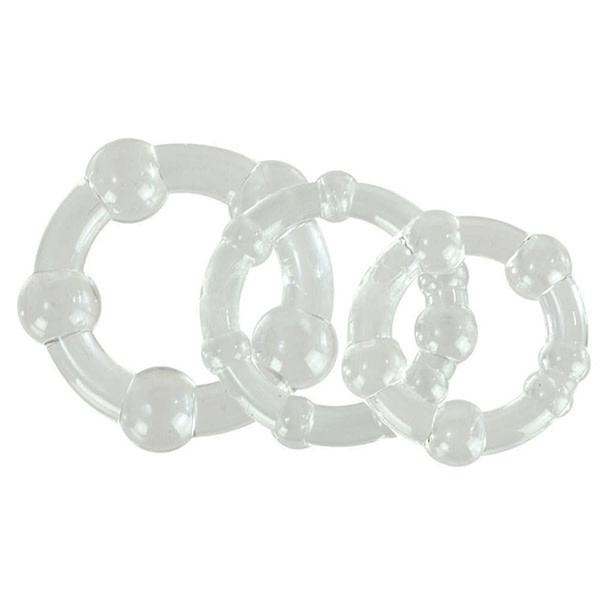 Cal Exotics Island Rings (Clear)