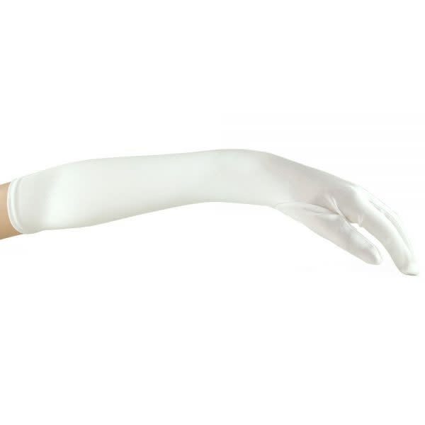 Topco Sales Glamour Gloves (White)