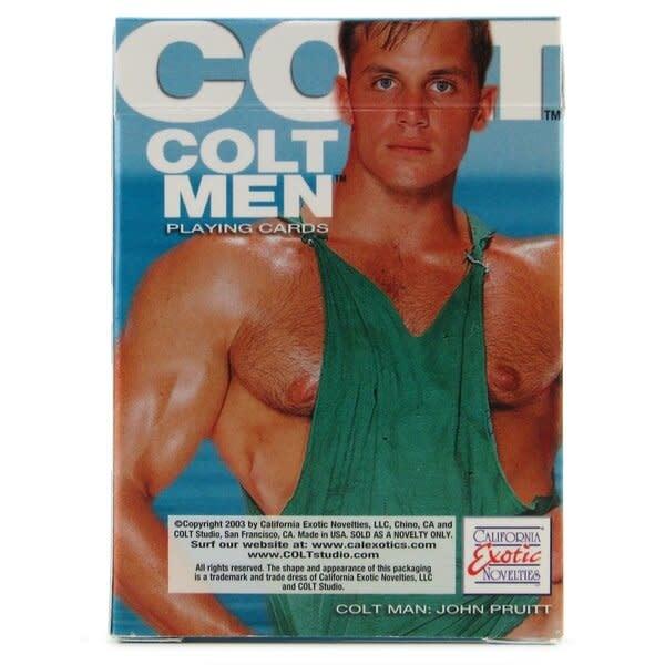 Cal Exotics Colt Men Playing Cards