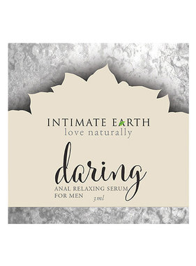 Intimate Earth Body Products Daring Anal Relaxing Serum for Men Foil Pack