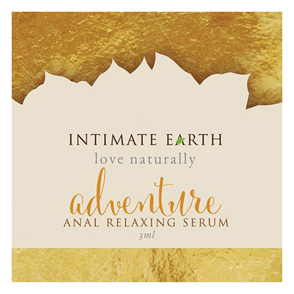 Intimate Earth Body Products Adventure Anal Relaxing Serum 0.1 oz (3 ml) Foil Pack