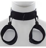 Premium Products Basic Black Cuff & Collar Set