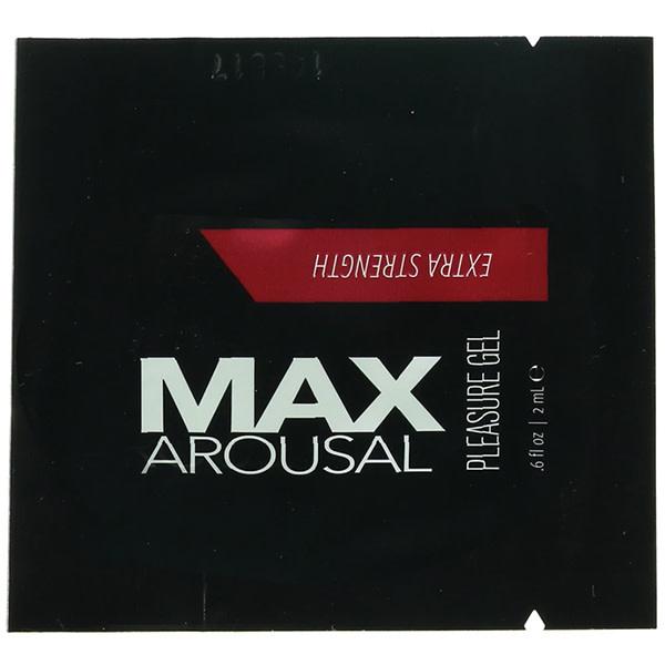 Classic Erotica MAX Arousal Extra Strength Pleasure Gel 0.6 oz (2 ml) Foil Pack