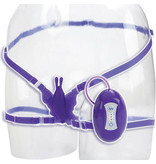 Cal Exotics Love Rider Butterfly Bliss Wearable Vibe (Purple)
