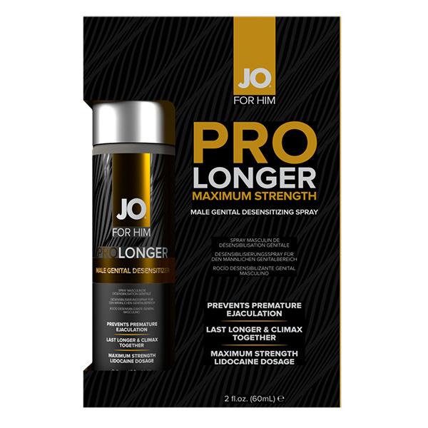 System JO Jo Prolonger Spray with Lidocaine 2 oz (60 ml)