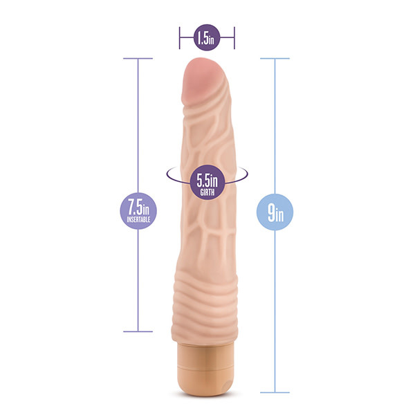 Blush Novelties Dr. Skin Vibe 2 (Beige)