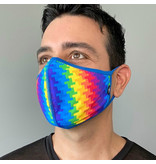Andrew Christian Menswear Electric Pride Glam Mask