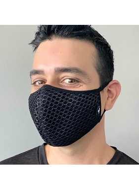 Andrew Christian Menswear Slick Mesh Glam Mask