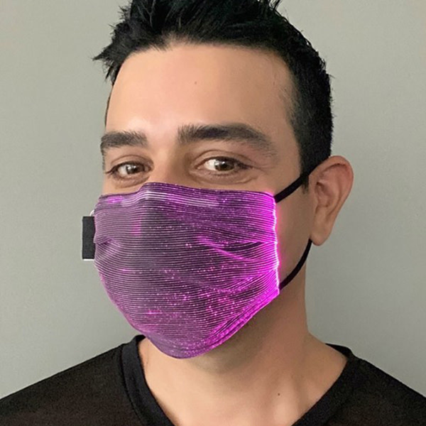 Andrew Christian Menswear LED Light Show Mask
