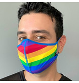 Andrew Christian Menswear Pride Stripe Glam Mask