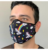Andrew Christian Menswear Rainbow Unicorn Glam Mask
