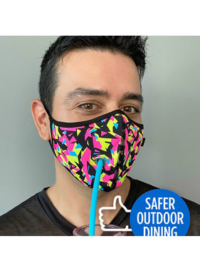 Andrew Christian Menswear Safer Outdoor Dining Fierce Mask