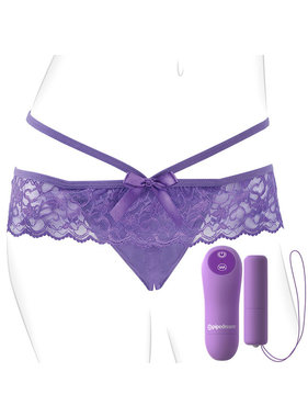 Pipedream Products Fantasy For Her Crotchless Panty Thrill-Her Vibe