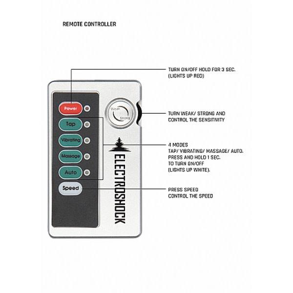 Shots America Toys ElectroShock Vibrating Urethral Sounding Plug