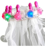 Pipedream Products Bachelorette Light-Up Pecker Veil