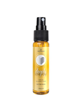 Sensuva Deeply Love You Throat Relaxing Spray: Butter Rum