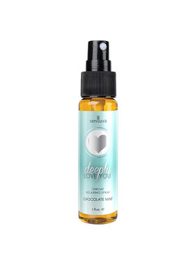 Sensuva Deeply Love You Throat Relaxing Spray: Chocolate Mint