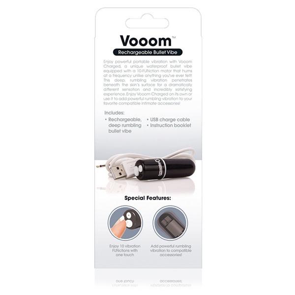Screaming O Charged: Vooom Mini Bullet (Black)