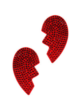 Coquette International Lingerie Broken Heart Nipple Pasties