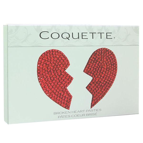 Coquette International Lingerie Broken Heart Nipple Pasties