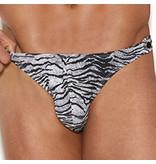 Elegant Moments Lingerie Zebra Forever Thong