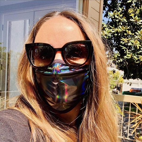 Neva Nude Dark Descent Holographic Face Mask