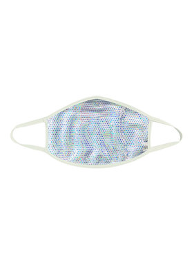 Neva Nude Liquid Party Pure White Holographic Face Mask