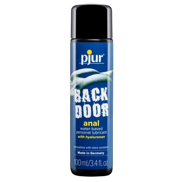 Pjur Lubricants Back Door Water Based Anal Lubricant 3.4 oz (100 ml)