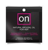 Sensuva ON Arousal Oil For Her: Original 0.01 oz (0.3 ml) Foil Pack