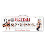 Pipedream Products Fetish Fantasy Spinning Fantasy Swing (Black)