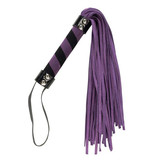 BMS Enterprises Punishment Purple Suede Bondage Whip