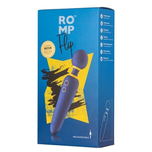 WOW Tech International Romp: Flip Wand Vibrator