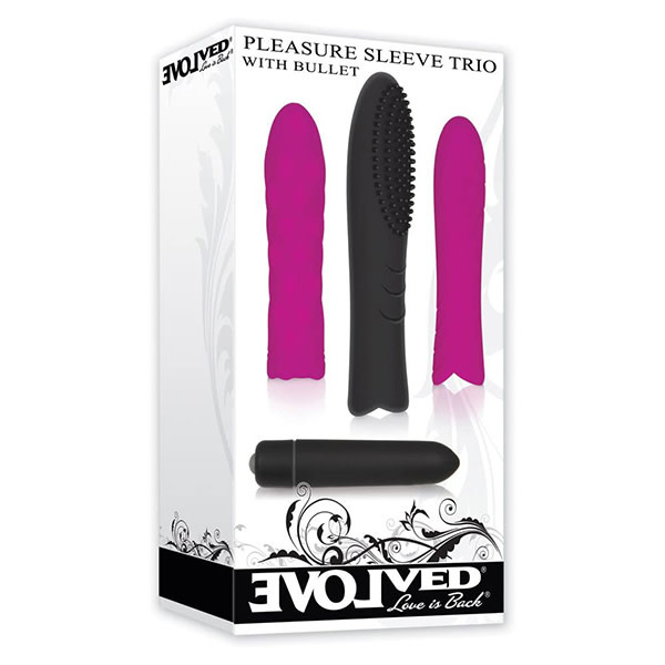 Evolved Toys Pleasure Sleeve Trio With Bullet