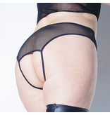 Coquette International Lingerie Fishnet Crotchless Panty
