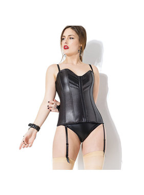 Coquette International Lingerie Matte Finish Metal Spiral Boning Corset