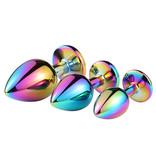 Premium Products Iridescent Metal Princess Plugs