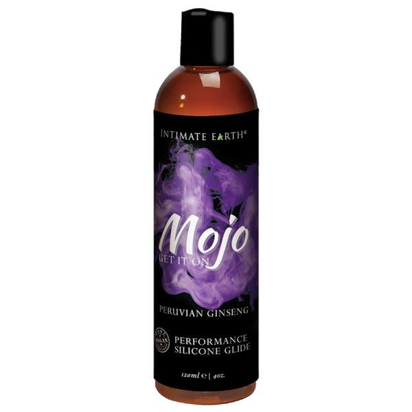 Intimate Earth Body Products MOJO Silicone Performance Glide Peruvian Ginseng 4 oz (120 ml)