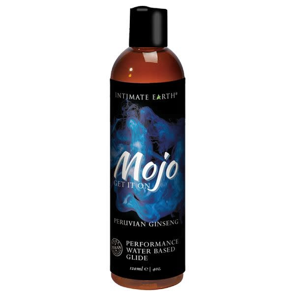 Intimate Earth Body Products MOJO Water-Based Performance Glide Peruvian Ginseng 4 oz (120 ml)