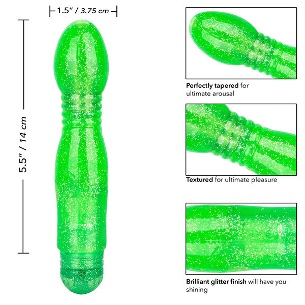 Cal Exotics Sparkle Twinkle Teaser (Green)