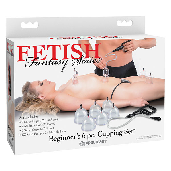 Pipedream Products Fetish Fantasy Beginner's 6PC Cupping Set