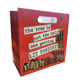 Kalan LP Gift Bag: The Tree is not the Only One Getting Lit Tonight (6 Pack Cans)