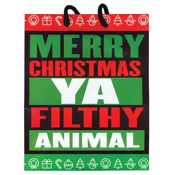 Kalan LP Gift Bag: Merry Christmas Ya Filthy Animal